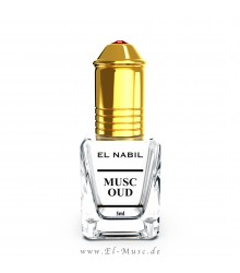 Musc Oud 5ml Parfüm - El-Nabil